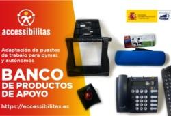 Banner del banco de productos de apoyo