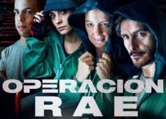 Cartel del cortometraje Operacion RAE