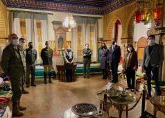 Foto de la visita a la Sala Historica de El Pardo