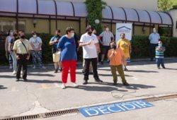 Foto del acto en el Real Patronato sobre Discapacidad