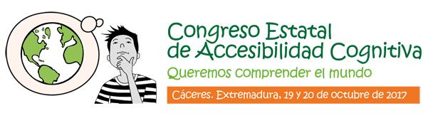 Cartel Congreso Estatal de Accesibilidad Cognitiva