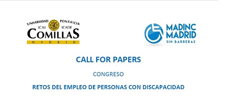 Call for papers Congreso Retos del empleo de personas con discapacidad