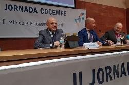 Foto de la inauguración de la II Jornada Cocemfe