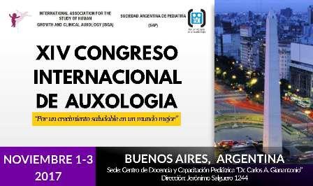 Cartel XIV Congreso Internacional de Auxología