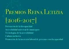 Portada de los Premios Reina Letizia 2016-2017