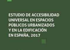 Portada del estudio de accesibilidad en espacios públicos urbanizados