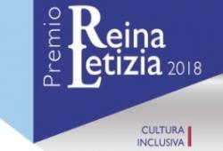 Cartel del Premio Reina Letizia 2018 de cultura inclusiva