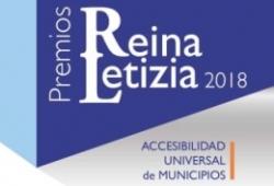 Cartel del PR Letizia de accesibilidad universal de municipios