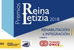 Cartel del Premio Reina Letizia de Rehabilitación e Integración