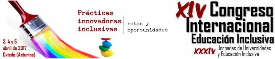 Cartel XIV Congreso Internacional de Educación Inclusiva