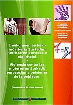 Percepción de la violencia contra las mujeres en Euskadi
