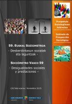 Sociómetro vasco sobre desigualdades sociales y prestaciones