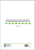 La pobreza energética en Gipuzkoa: análisis cuantitativo