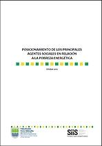 Pobreza energética: posicionamiento de los principales agentes sociales