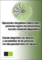 Estudio de necesidades de las personas con discapacidad física de Gipuzkoa