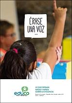 ¿Qué opinan los niños y niñas sobre la violencia contra la infancia?