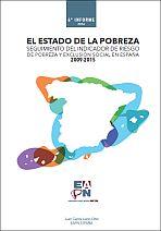 Seguimiento del indicador de riesgo de pobreza y exclusión social en España 2009-2015