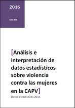 Interpretación de los datos sobre violencia de género en la CAPV