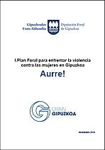 I Plan Foral para enfrentar la violencia contra las mujeres en Gipuzkoa