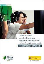 Orientaciones para la Gestión de Voluntariado en Plena Inclusión Madrid
