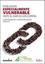 Población especialmente vulnerable ante el empleo en España
