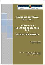 Encuesta de Necesidades Sociales 2018. Módulo EPDS-Pobreza. Comunidad Autónoma de Euskadi.