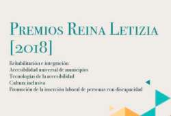 Portada de los Premios Reina Letizia 2018