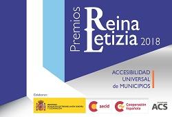 Cartel Premios Reina Letizia Accesibilidad Universal 2018
