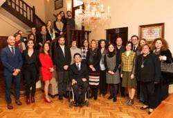 Foto de familia de la presentación de la decimosexta edición de la ?Convocatoria de Ayudas? de Fundación Solidaridad Carrefour en la sede del Real Patronato sobre Discapacidad