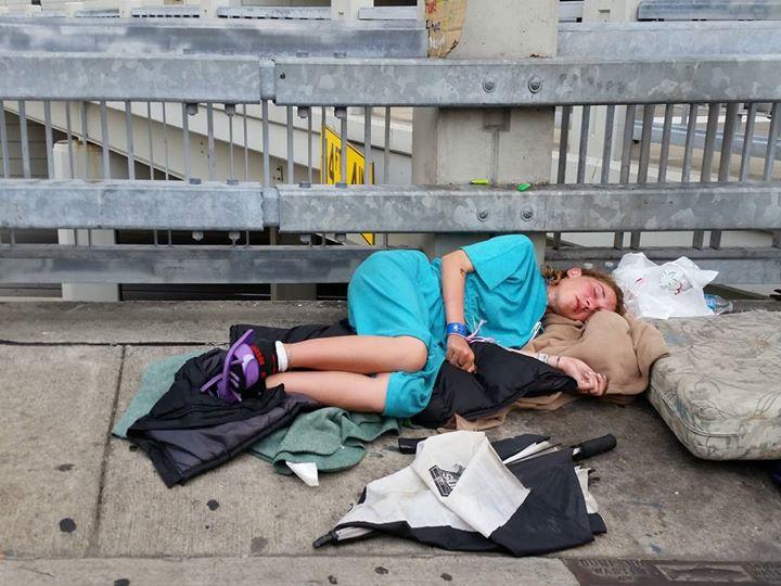 Mujeres sin hogar