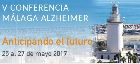 Cartel V Conferencia Málaga Alzheimer