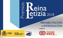 Cartel PR Letizia 2018 de Rehabilitación e Integración
