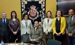Foto de familia del Consejo Rector del CNLSE