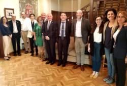 Foto de familia de la reunión del Consejo Rector del CNLSE