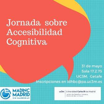 Cartel Jornada Accesibilidad Cognitiva