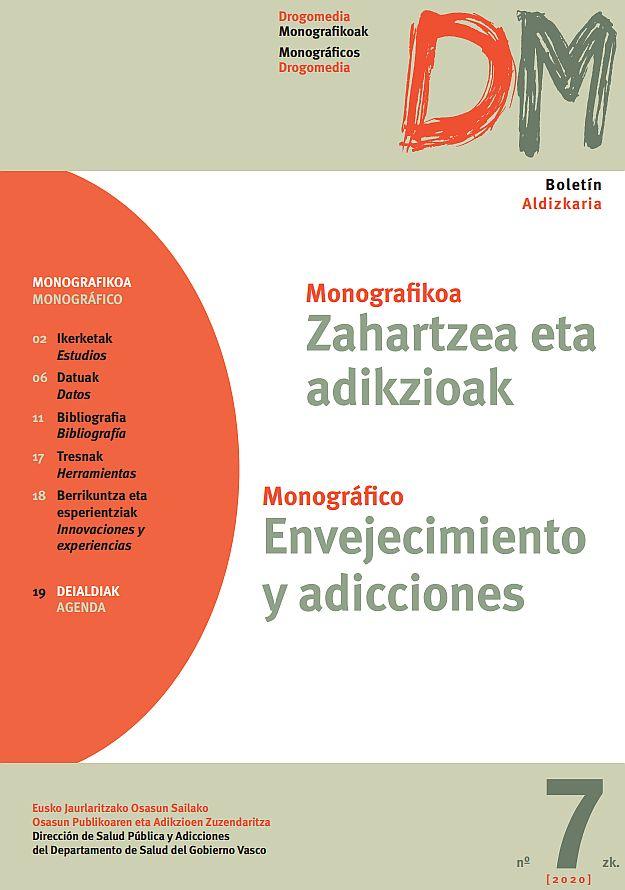 Envejecimiento y adicciones = Zahartzea eta adikzioak