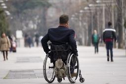 Foto de usuario de silla de ruedas