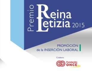 Cartel Premio Reina Letizia de Promoción de la Inserción Laboral
