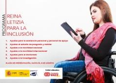 Cartel del Programa Reina Letizia para la Inclusión