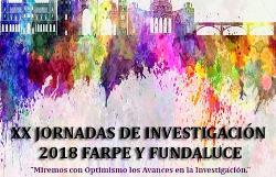 Cartel de la XX Jornada de Investigación FUNDALUCE 2018