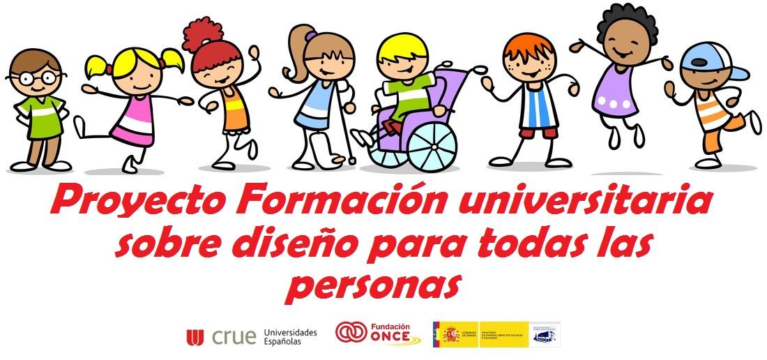 Banner de la presentación de la publicación 'Formación Curricular en Diseño para Todas las Personas en Educación'