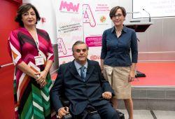 Foto de familia de la presentación de la Madrid Accesibility Week