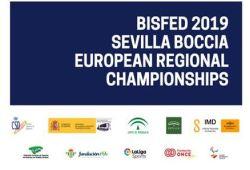 Imagen del cartel del Campeonato de Europa de Boccia Sevilla 2019
