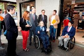 Imagen de la inauguración en Alcalá de Henares del el primer Espacio Integrado Inteligente de Europa