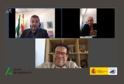 Foto de la re online entre Real Patronato y Junta de Andalucia