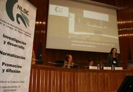 Foto del Congreso CNLSE de la lengua de signos española