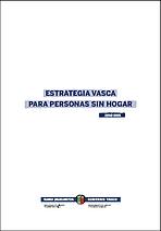 estrategia Vasca para Personas sin Hogar 2018-2021