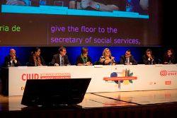 Foto de la inauguración del Congreso CIUD 2018