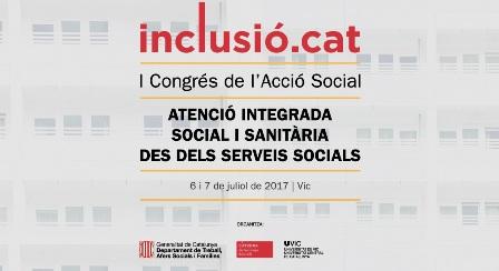 Cartel I Congrés de l'Acció Social – Inclusió.cat