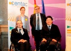 Foto de familia Presentación informe CENTAC